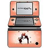 Rendez Vous 10038, Liebe, Design folie Sticker Skin Aufkleber Schutzfolie mit Farbenfrohe Design für Nintendo DSi XL Designfolie