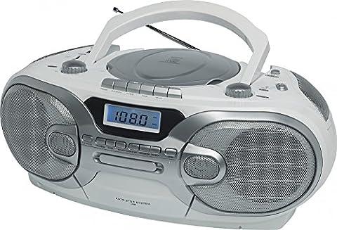 Soundmaster scd7200we Portable CD Player weiß-Player und Recorder