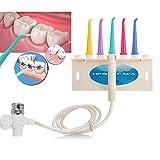 Irrigatore Orale Rubinetto Filo D'acqua Dentale, Dental Spa Acqua Jet Floser Denti Dispositivo Di Spazzolino Da Denti Set Per Il Trattamento Casa (5 In 1 Set)