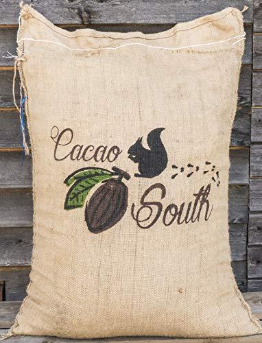 Edelmond Bio Kakaoschalen Mulch ✓ Für Haus und Garten ✓ Ohne Pestizide auch für Innenräume geeignet ✓ Dekoration und Bio Alternative zu Rindenmulch ✓ Lose fallend, Keine Pressware (20 kg)