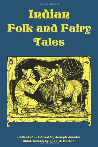 Indian Folk and Fairy Tales Cover Image