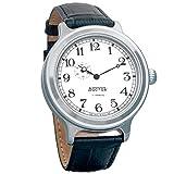 Wostok Retro kirovskie k-43Armbanduhr WWII Herren Automatik Armbanduhr Lederband # 550946