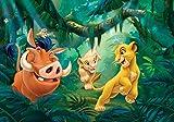 Fototapete Disney Der König der Löwen (254 x 184cm - 2-teilig) Vlies-Tapete