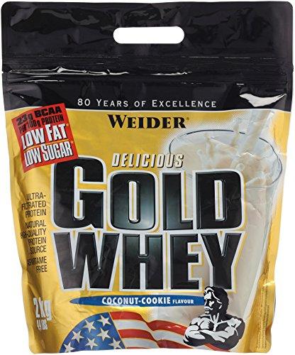 Weider, Gold Whey Protein, Kokosnuss-Cookie , 1er Pack (1x 2 kg)