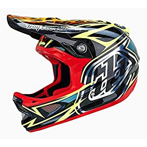 Troy Lee D3 Speeda Casque Carbone-Jaune-XL (MY15 60–62 cm)