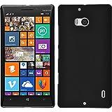 PhoneNatic Case für Nokia Lumia 930 Hülle schwarz gummiert Hard-case + 2 Schutzfolien