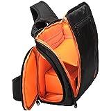 Aspiredeal Camera Case Waterproof Shockproof Single Strap Backpack Bag For SLR DSLR Orange