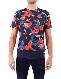 Paul Smith Men's PUPD988R72925 Multicolor Cotton T-Shirt