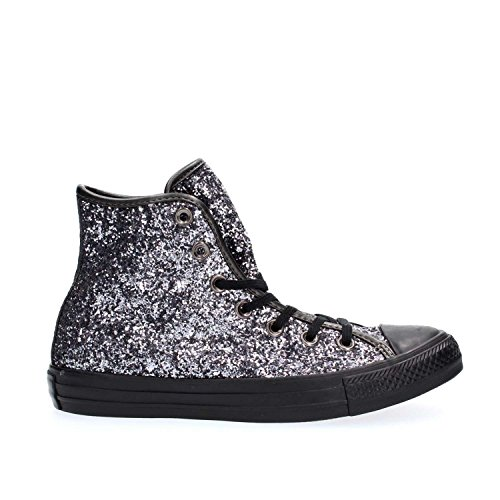 Converse - Converse Chaussures Femme Noir Paillettes All Star Brunito/Black/Thunder