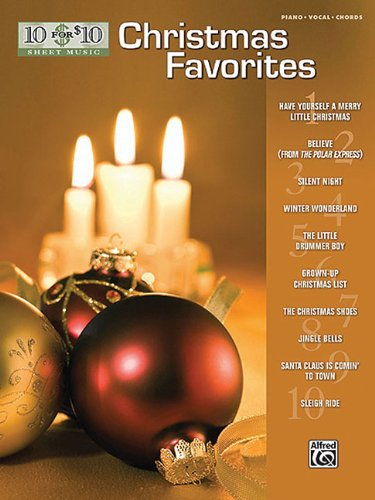 10 for 10 Sheet Music Christmas Favorites: Piano/Vocal/Chords
