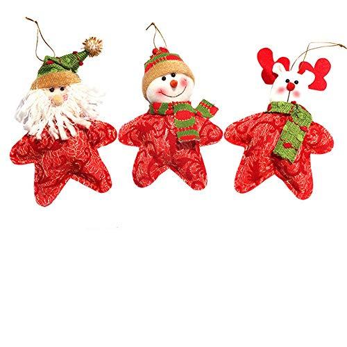 Kostüm Hunde Bart - MA87 Weihnachten Spielzeug Weihnachtsbaum Puppe montiert Version von Weihnachten Kombinationsanzug