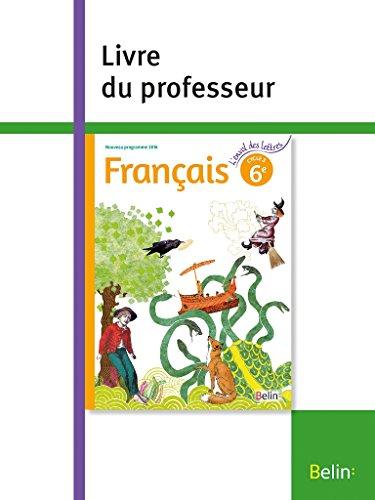 Francais 6e : Livre professeur par Collectif