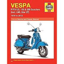 Vespa P/px125, 150 & 200 Scooters