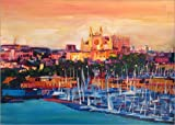 Poster 100 x 70 cm: Spanien, Balearen, Palma de Mallorca