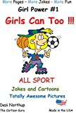 Girls Can Too !!! (Girl Power Book 1) (English Edition)
