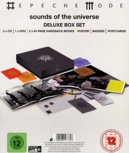 Sounds of the Universe Deluxe Box Set (3 CDs/DVD/2 Books) by Depeche Mode (2009-04-21)