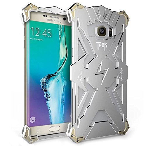 Galaxy S7 Edge Case, S7 Edge Metall Fall, Ultra Light Cool Aluminium Metall [stoßfest dropproof] Rückseite Cover Bumper für Samsung Galaxy S7 Edge