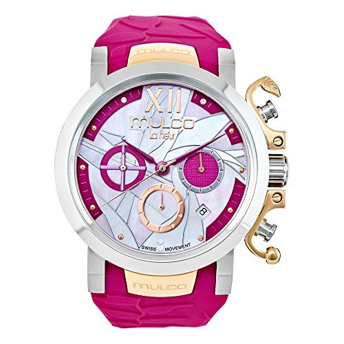 Mulco Le Fleur MW3-14009-523 Ave del Paraiso Collection Fucsia Band