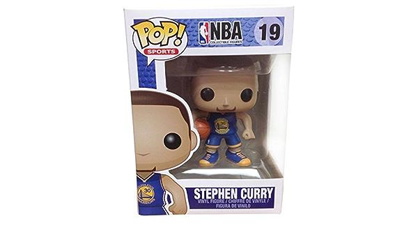 Funko Pop Nba Stephen Curry 19 Golden State Warriors By Amazon De Spielzeug