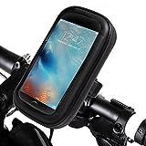 Handyhalterung Fahrrad , Ubegood Motorrad-Halterung [360° drehbar] Handyhalter Fahrrad Tasche mit wasserdichte für iPhone SE/6S/6/5S andere bis zu 4,7 Zoll Smartphone