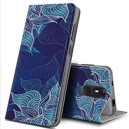 Wiko View Lite Hülle, GeeMai Premium Flip Case Tasche Cover Hüllen mit Magnetverschluss [Standfunktion] Schutzhülle Handyhülle für Wiko View Lite Smartphone, CH08