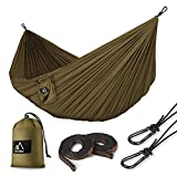 Terra Hiker Camping Hammock with Hammock Straps & Steel Carabiners Waterproof Lightweight Portable