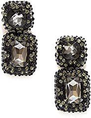 Valentine's Day Pipa Bella - Dangle Drop – Black Stone Earrings For Women - Jewellery for Girls