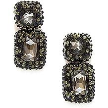 Pipa Bella Drop Earrings For Women (Black) (OC-01-E01-108-15)