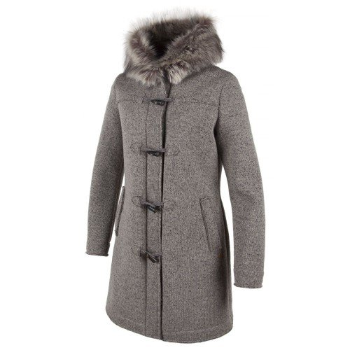CMP Damen Walk/Woll-mantel Walkmantel, Sand Mel/Wood, 36