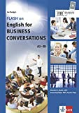 FLASH on English for BUSINESS CONVERSATIONS A2-B1: Student's Book with downloadable MP3 Audio Files