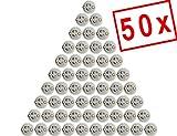 MAILUX SOD11301 GU10 Fassung | Sockel für GU10 LED und Halogen | Leuchtmittel (50 Stück) inkl. 15cm Kabel