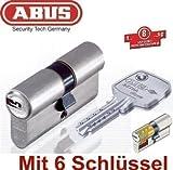 ABUS EC750 Extra Classe Profil-Doppelzylinder Länge 40/50mm mit 6 Schlüssel