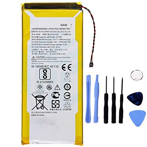 Ellenne Batteria Compatibile con Motorola Moto G4 Plus GA40 XT1622 XT1625 XT1641 XT1644+ AD Alta capacità 3000MAH con Kit SMONTAGGIO Incluso