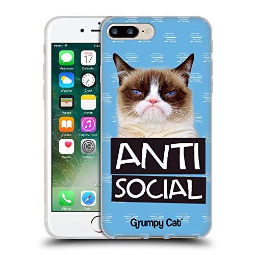 Offizielle Grumpy Cat No Zitate Soft Gel Hülle für Apple iPhone 6 / 6s Antisozial