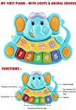 #10: TOY-STATION My First Elephant Piano Toy (Blue)