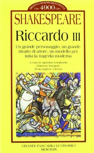Riccardo III. Testo originale a fronte