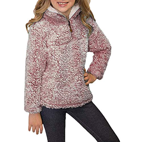 Baby Mantel,Infant Toddler Mädchen Junge Herbst Winter Vlies Kapuzenjacke Outwear Kinder Cute Pinguin Coat Reißverschluss Fleece Jacken Dicke Warme ()