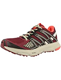 Salomon XR SHIFT W Zapatillas para Correr Trail Running Rojo para Mujer Sensiflex