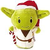 Hallmark–Tarjeta 25468862Star Wars Yoda Navidad Itty Bitty