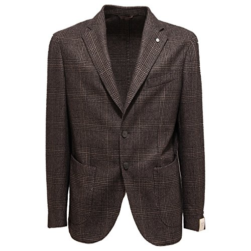 6347Q giacca uomo L.B.M. 1911 giacche marrone jacket men [54]