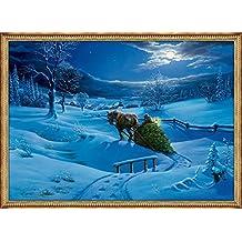 Kleiner Wandkalender - Winterlandschaft