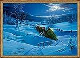 Kleiner Wandkalender - Winterlandschaft -