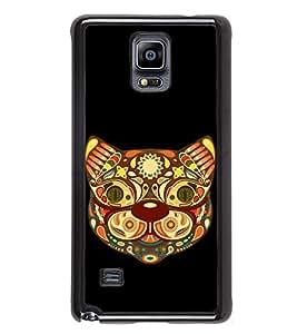 Fiobs Designer Back Case Cover for Samsung Galaxy Note 4 :: Samsung Galaxy Note 4 N910G :: Samsung Galaxy Note 4 N910F N910K/N910L/N910S N910C N910Fd N910Fq N910H N910G N910U N910W8 (Awards Ar Artistic Owl Birld Dance Singer)