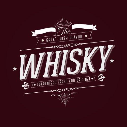 Whisky Alcohol Drink Hochwertigen Auto-Autoaufkleber 10 x 10 cm