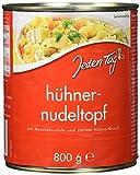 Jeden Tag Hühner-Nudeltopf, 6-er Pack (6 x 800 g)