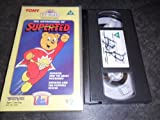 Picture Of The Adventures of SUPERTED - Super Ted VHS Video from Tomy TV Teddy Videotape Series