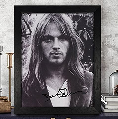 David Gilmour Autographed Signed Photo 8x10 Reprint RP PP [Rattle