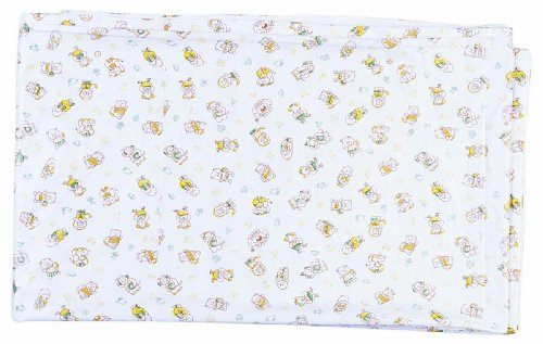 Advance-Baby-Stuff-Jam-White-with-Yellow-Print-Plastic-Sheet-Double-Extra-Large-White