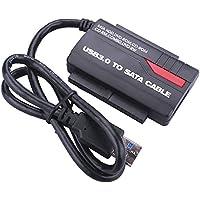 WANLONGXIN WLX-891U3 USB 3.0 a 2.5'' 3.5'' SATA y IDE duro convertidor cable del Adaptador