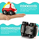 Car Toy, [Friction Powered] Pictek Toys Vehicles, 3Pack Toddler Toy Cars , Car Police Truck Toys, Safety Baby Toy Basic Vehicle For Toddlers Kids Boys Baby